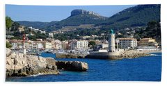 Harbor Of Cassis Hand Towel