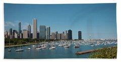Harbor Parking In Chicago Bath Towel