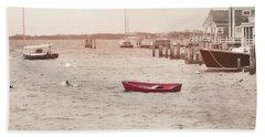 Harbor Red Hand Towel