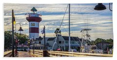 Harbour Town Lighthouse Hand Towel