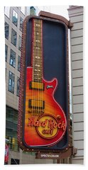 Hard Rock Cafe , Ny Hand Towel