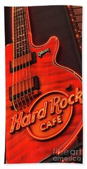 Hard Rock Cafe Bath Towel