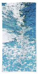 Hard Water Abstract Bath Towel by Menega Sabidussi