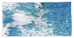 Hard Water Abstract Bath Towel
