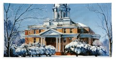 Hardin County Courthouse Bath Towel