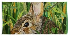 Hare's Breath Hand Towel