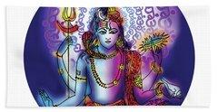 Hari Hara Krishna Vishnu Bath Towel