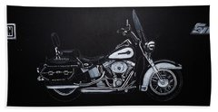 Harley Davidson Snap-on Bath Towel