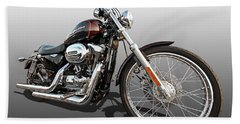 Harley Sportster Xl1200 Custom Hand Towel