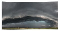 Harlowton, Montana, Supercell Bath Towel