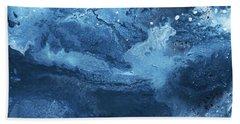 Harmonious Blues- Art By Linda Woods Bath Towel