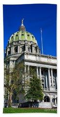 Harrisburg Capitol Building Hand Towel