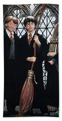 Harry Potter Hand Towel by Tom Carlton