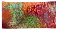 Harvest Abstract Hand Towel