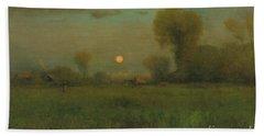 Harvest Moon, 1891 Bath Towel