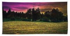 Harvest Twilight Bath Towel
