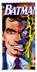 Harvey Dent  Hand Towel