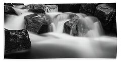 Harz Mountain Stream Bath Towel