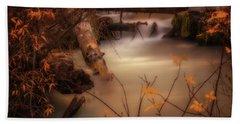 Hat Creek In Gold Hand Towel
