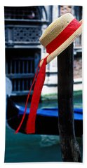 Hat On Pole Venice Hand Towel