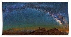 Hat Rock Milky Way Bath Towel