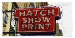 Hatch Show Print Bath Towel