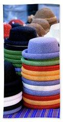 Hats, Aix En Provence Bath Towel