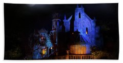 Haunted Mansion At Walt Disney World Bath Towel by Mark Andrew Thomas