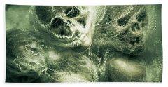 Haunted Undead Skeleton Heads Hand Towel