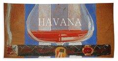 Havana Hand Towel by Andrew Drozdowicz