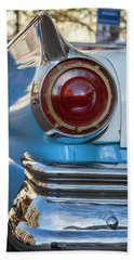 Bath Towel featuring the photograph Havana Cuba Vintage Car Tail Light by Joan Carroll
