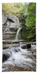 Eagle Cliff Falls II Bath Towel