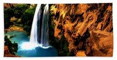 Havasu Waterfall Hand Towel