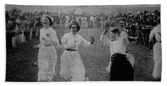 Bath Towel featuring the photograph Having Fun 1901 To 1914 by Miroslava Jurcik