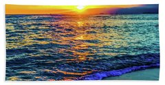 Hawaii Beach Sunset 149 Bath Towel