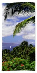 Hawaiian Fantasy Hand Towel by Marie Hicks