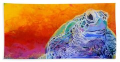 Hawaiian Honu 4 Bath Towel by Marionette Taboniar