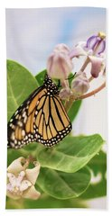 Hawaiian Monarch Hand Towel by Heather Applegate