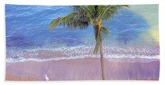 Hand Towel featuring the photograph Hawaiian Morning by Kathy Bassett