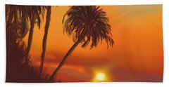 Hawaiian Sunset Bath Towel
