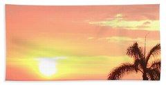 Hawaiian Sunset Bath Towel by Karen Nicholson