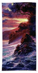 Hawaiian Sunset - Kauai Hand Towel