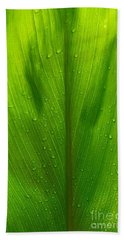 Hawaiian Ti Plant Bath Towel