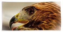 Hawk's Eye Bath Towel