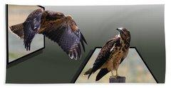 Hawks Bath Towel