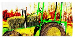 Hay It's A Tractor Bath Towel