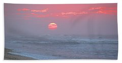 Hazy Sunrise I I Bath Towel