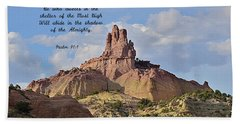 Bath Towel featuring the photograph He Who Dwells by Debby Pueschel