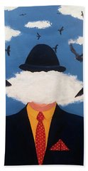 Head In The Cloud Hand Towel by Thomas Blood
