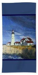 Head Lighthouse  Bath Towel